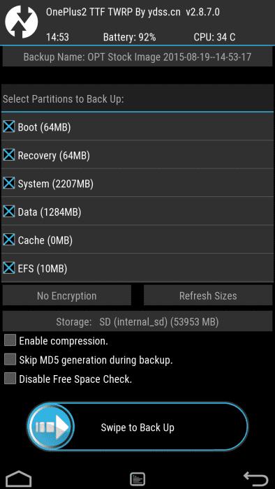 OP2-Nandroid-Backup