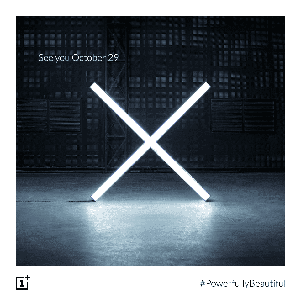 OnePlus Teases New X Phone, Announcement on 29th October 1