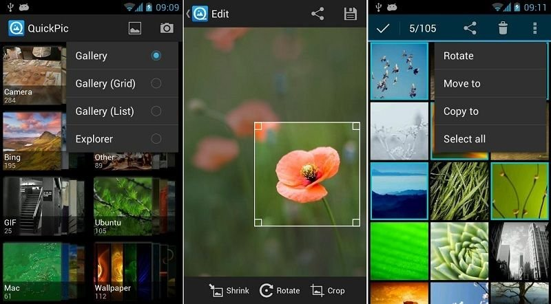 Best Gallery App Alternatives on Android