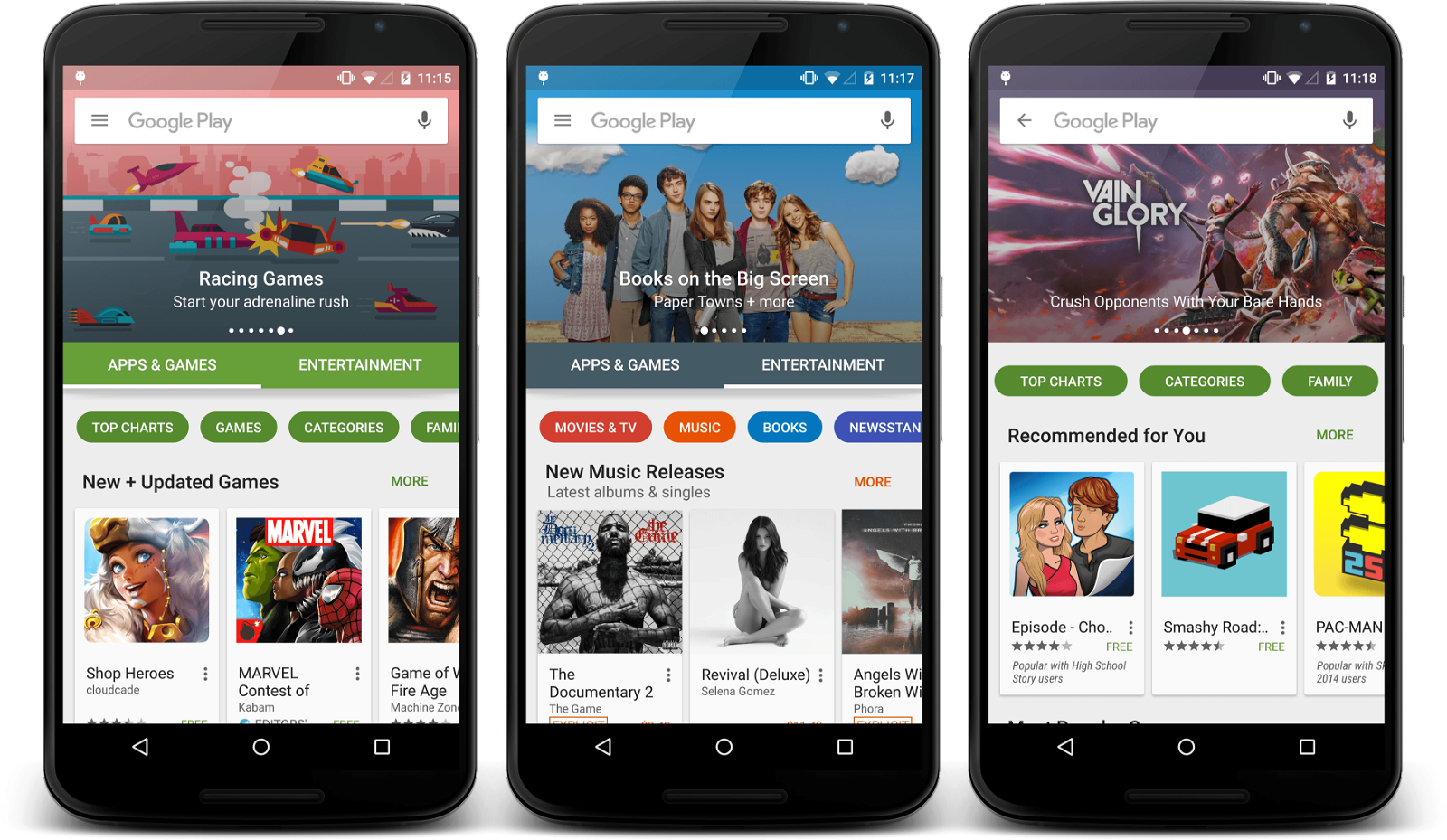 Google Play Store Getting Fresh New Look, Major UI Update Rolling Out Now 1