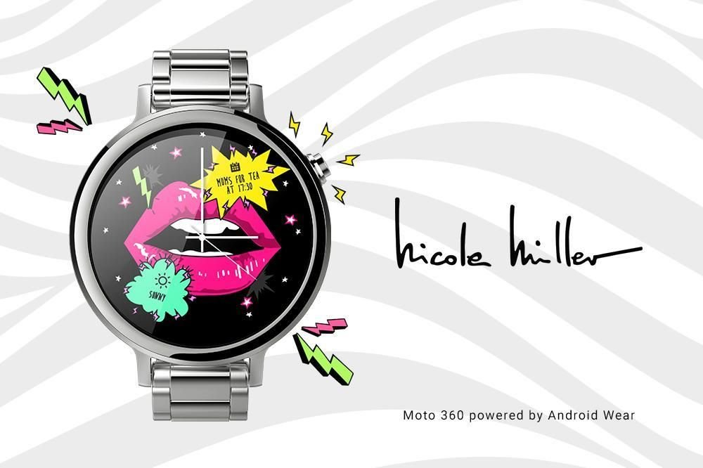 Nicole Miller Watch Face