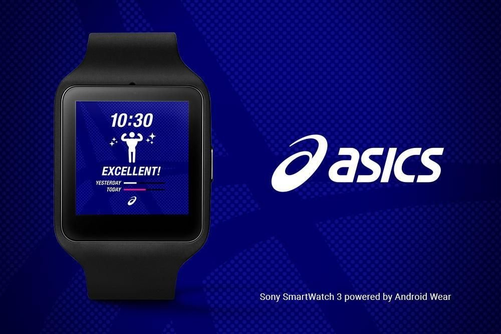 ASICS Watch Face