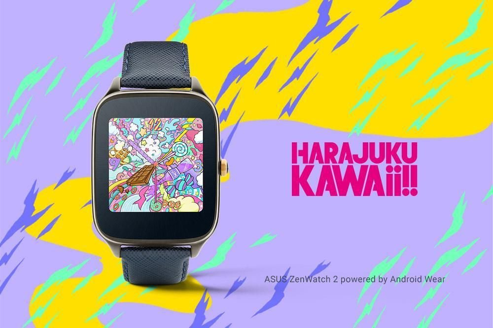 Harajuku Kawaii!! Watch Face