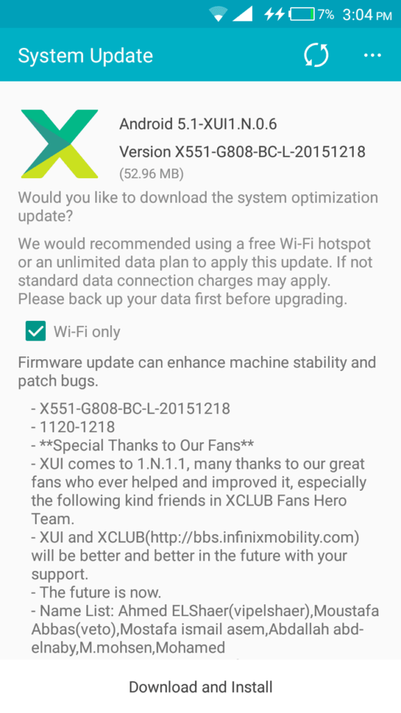 Infinix Hot Note Gets Another Update, Adds One-Hand
