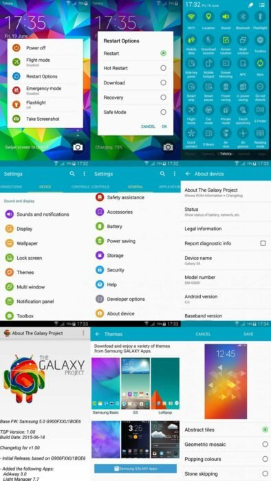 Update Galaxy S5 G900I to Android 5 1 1 The Galaxy Project