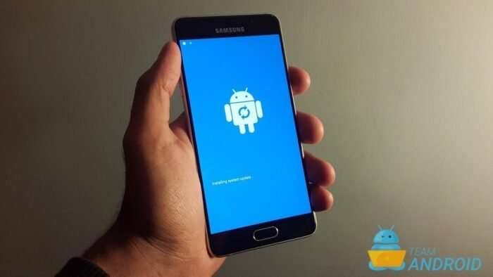 android nougat recovery mode no command