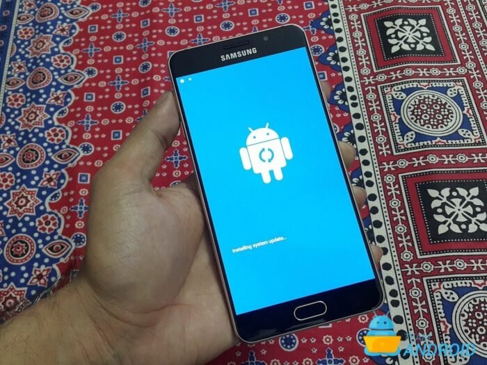 Enter Recovery Mode on Samsung Galaxy J7 Prime - Tutorial