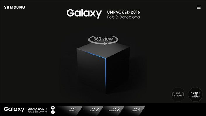 Watch Galaxy Unpacked 2016 Live Streaming - Samsung Galaxy S7 and Galaxy S7 Edge Launch 1