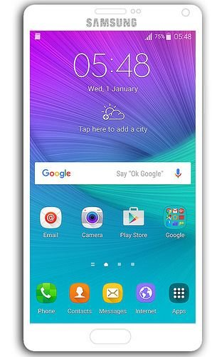 Update Galaxy Note 4 N910F to Android 6 0 1 NamelessROM