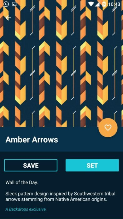 Backdrops – Wallpapers: Premium Wallpaper for Android without any cost 1
