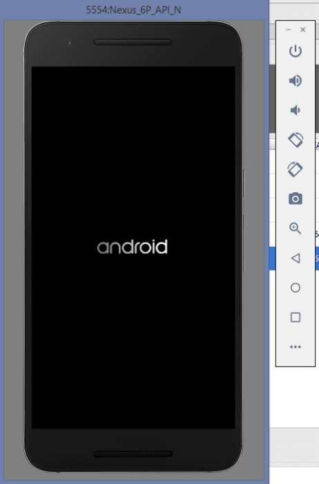 Setup Andriod Emulator-11