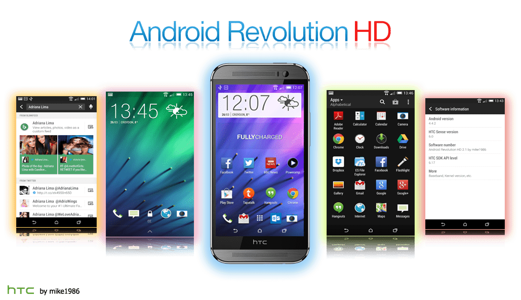 Update HTC One (M8) to Android 6 0 Android Revolution HD Marshmallow
