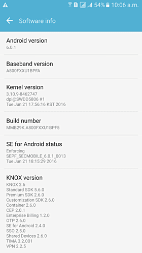 Galaxy A8 Marshmallow Update Now Available OTA 1
