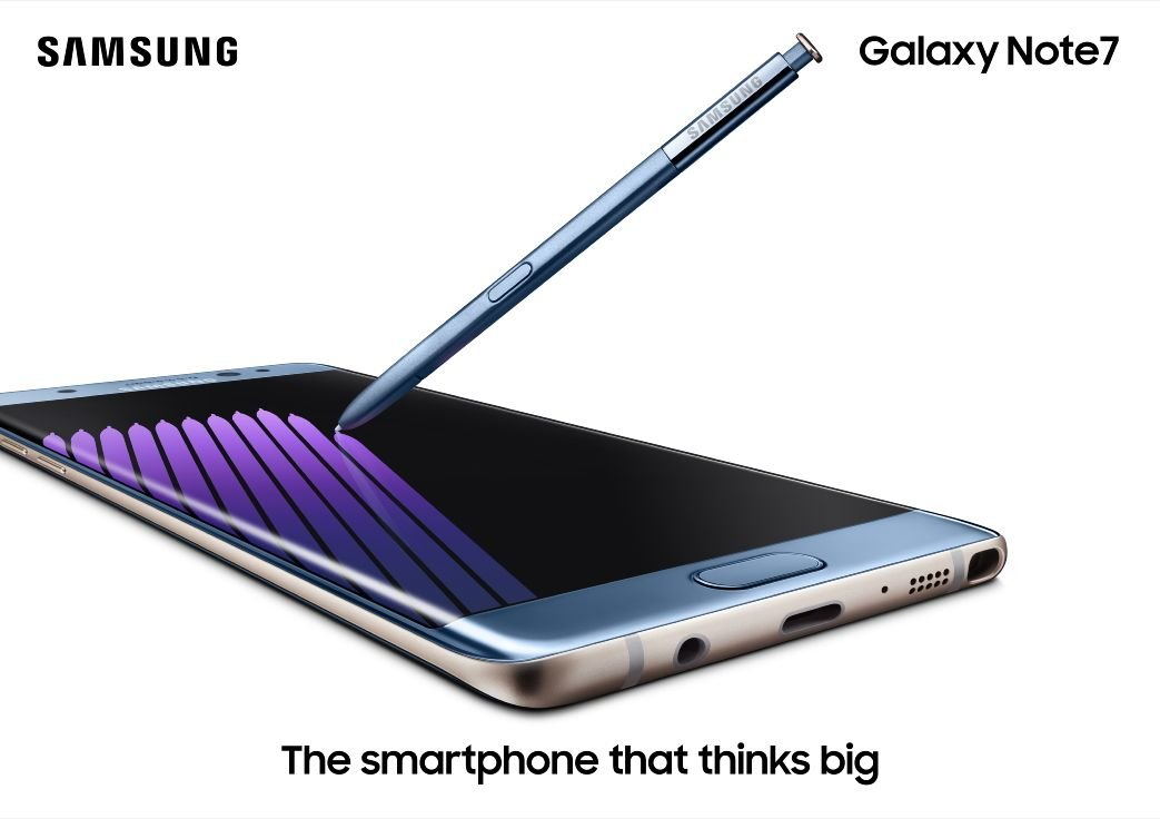 Samsung Galaxy Note 7 Announced - New S-Pen and Iris Scanner 6