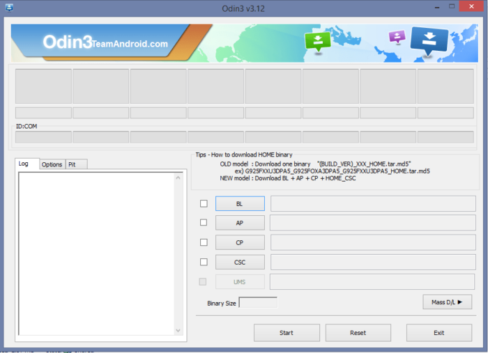 Samsung Odin 3.13.1 with Android ROM Flashing Tool