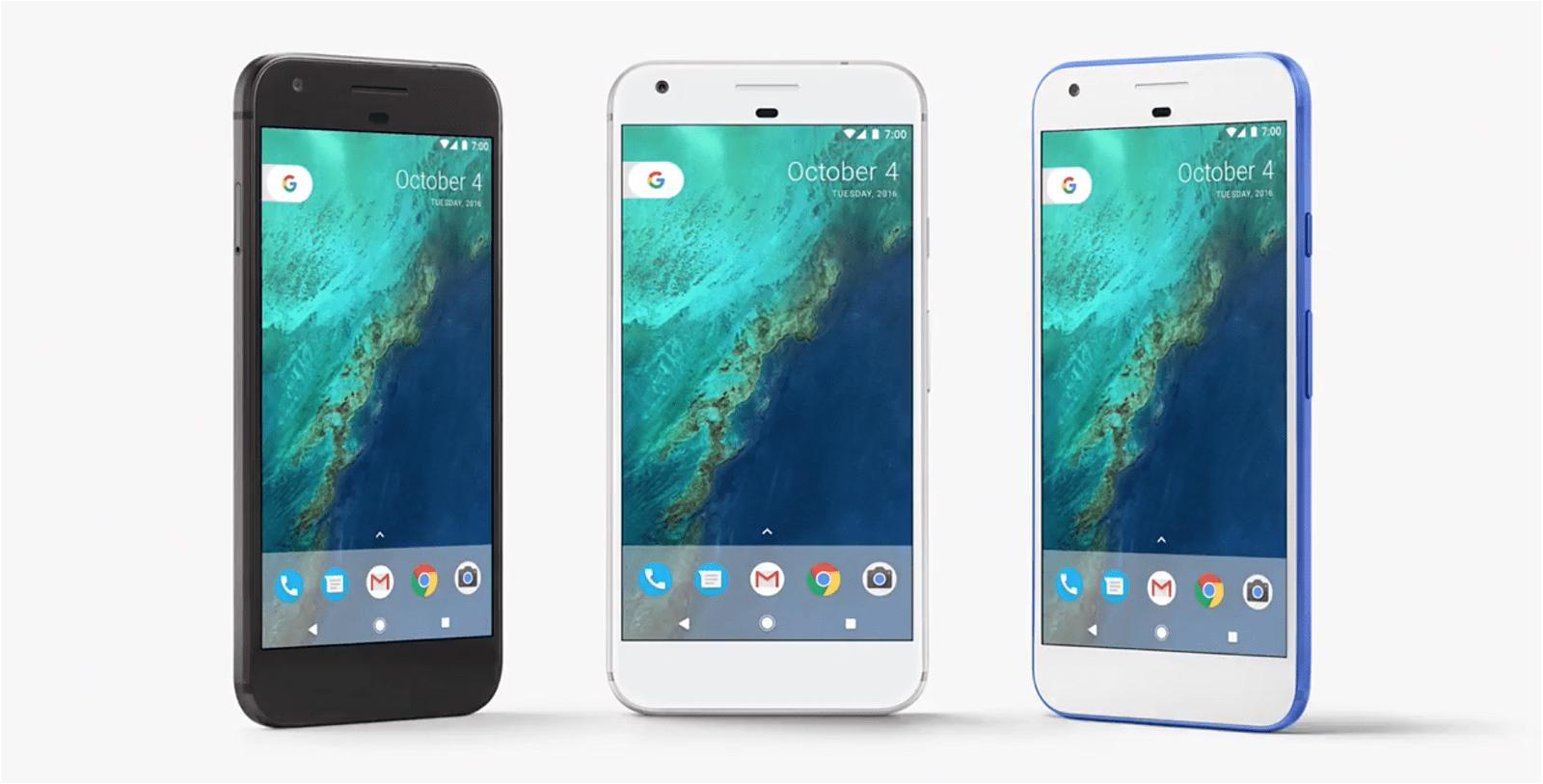 android 7.1 nougat, google pixel