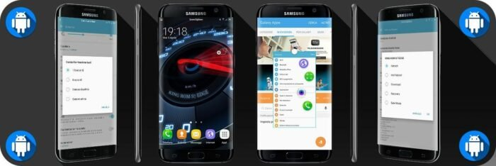 Update Galaxy S7 Edge G935F to Android 6 0 1 KingRom