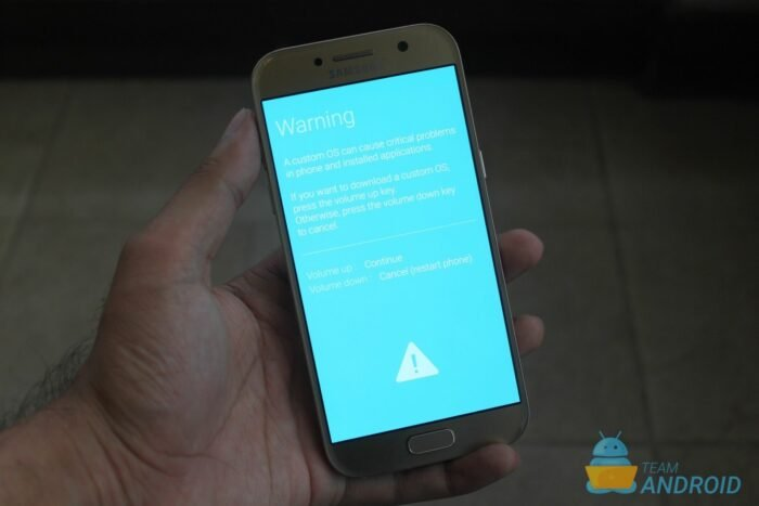 How to Enter Download Mode on Samsung Galaxy A5 (2017) 17