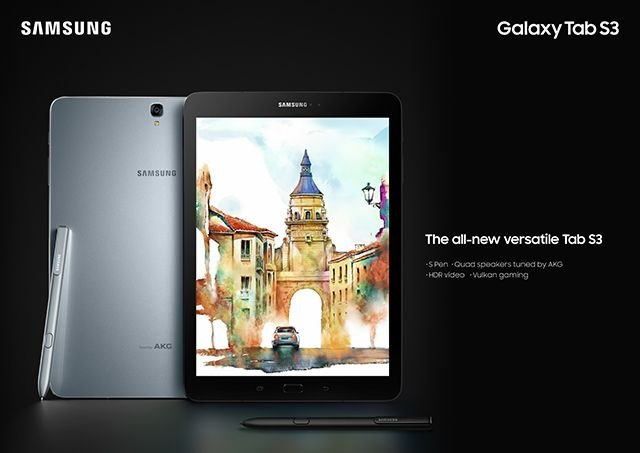Samsung Reboots the Tablet with Galaxy Tab S3 - Glass Back, High End Specs 4