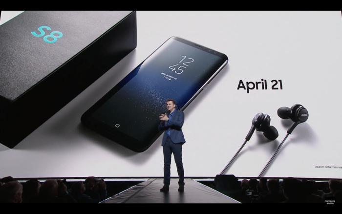 Samsung Galaxy S8 Announced, Launching on April 21st 1