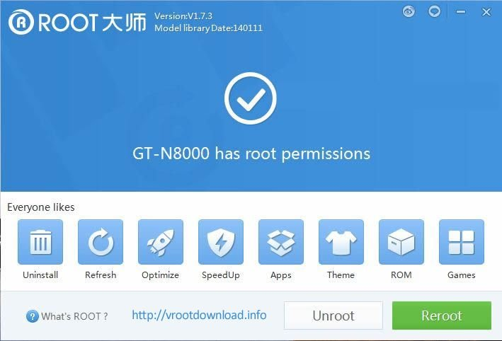 Download vRoot Tool - One-Click Root for Android Phones 1