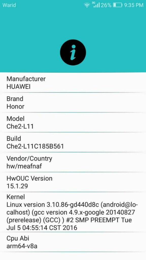 Download Huawei Firmware, Official ROMs and Updates with