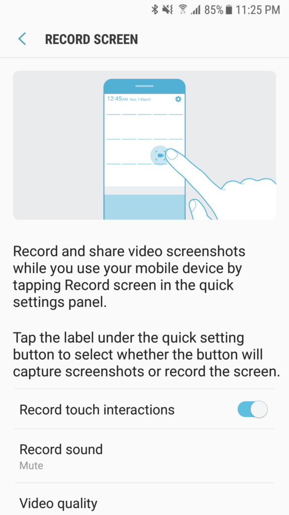 Install Samsung Screen Recorder APK on Any Samsung Device