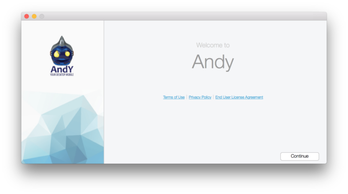 HOW TO: Run Android Apps on Mac OS X with Andy 12