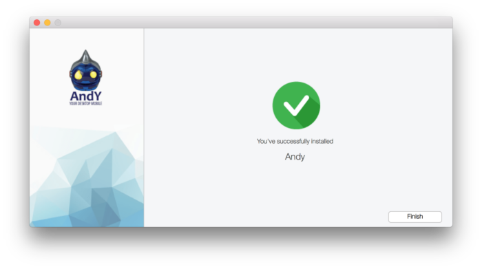 HOW TO: Run Android Apps on Mac OS X with Andy 14