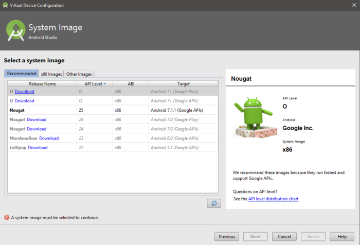 HOW TO: Install Android O Developer Preview Emulator on Android Studio 2.4 20