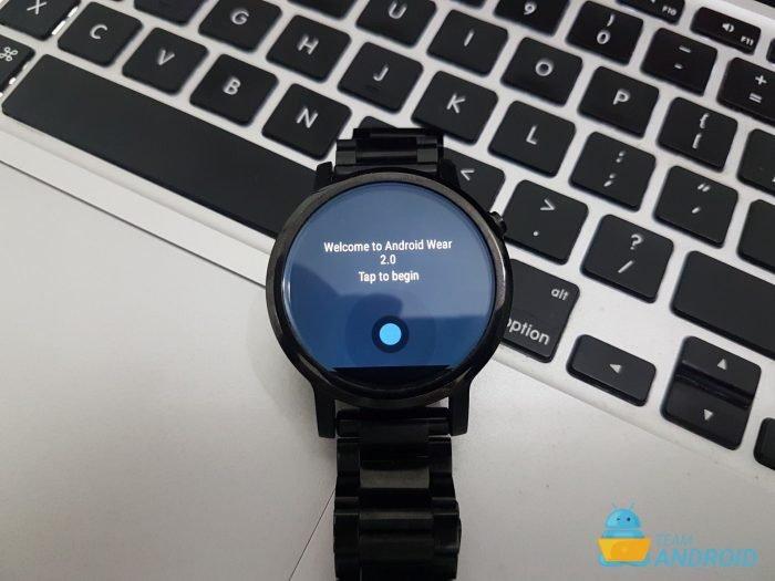 Moto 360 2nd Gen - Android Wear 2.0