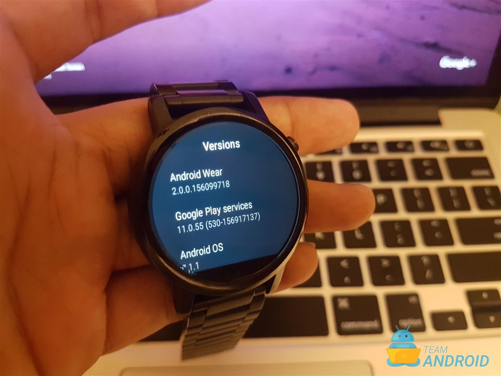 Moto 360 - Android Wear 2.0