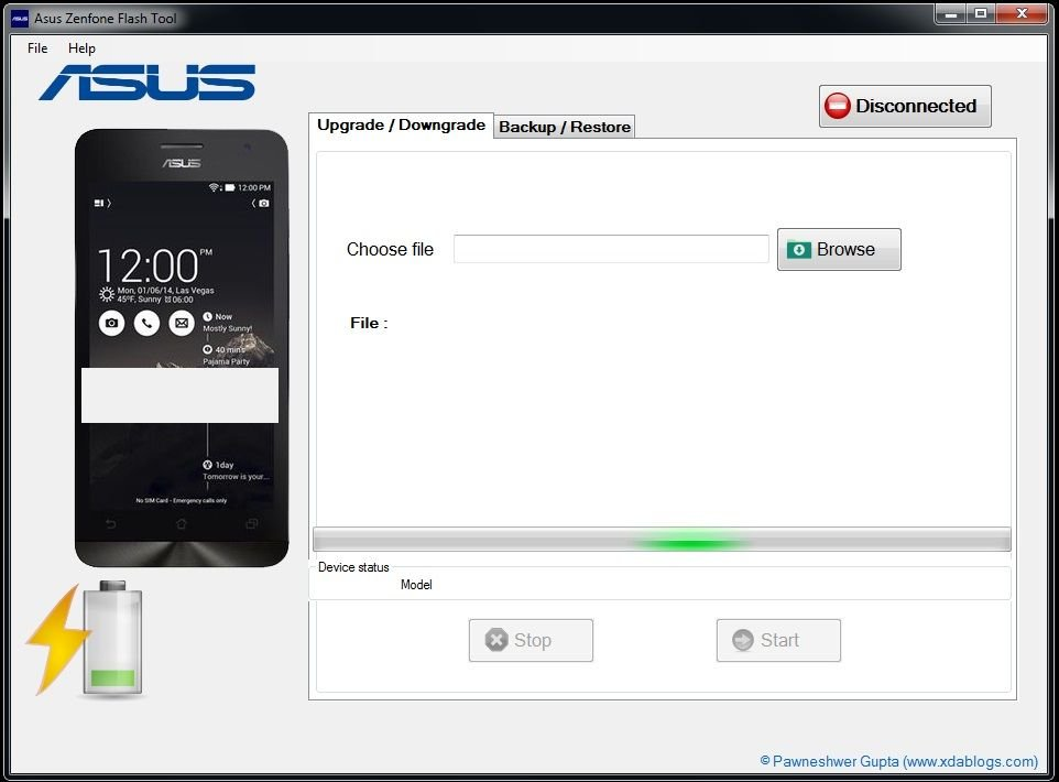 Download Asus Zenfone Flash Tool (All Versions) - Flash