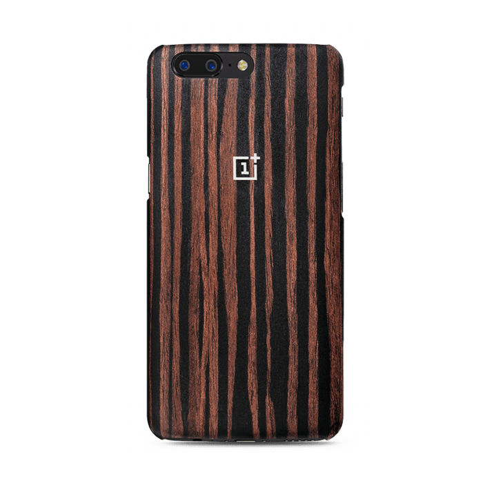 OnePlus 5 Carbon Fiber Cover (Wooden)