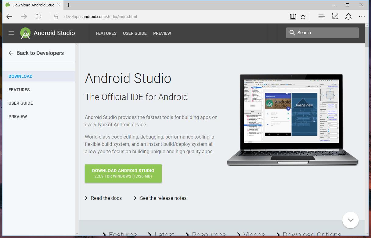 Download Android Studio