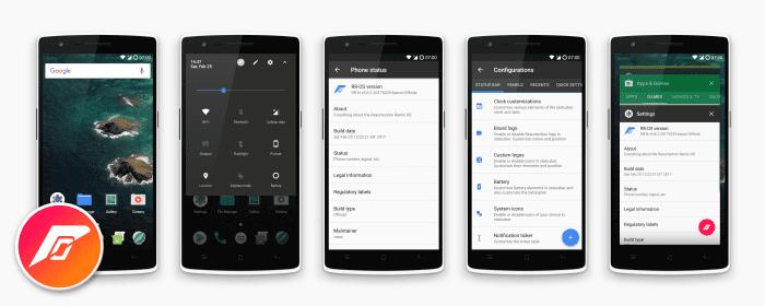 Update OnePlus One to Android 8.1.0 RESURRECTION REMIX 6.0 Oreo Custom ROM 10