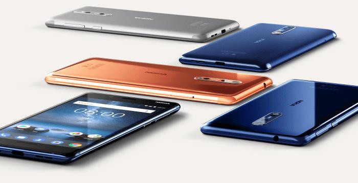 Nokia 8 Model Numbers / Variants