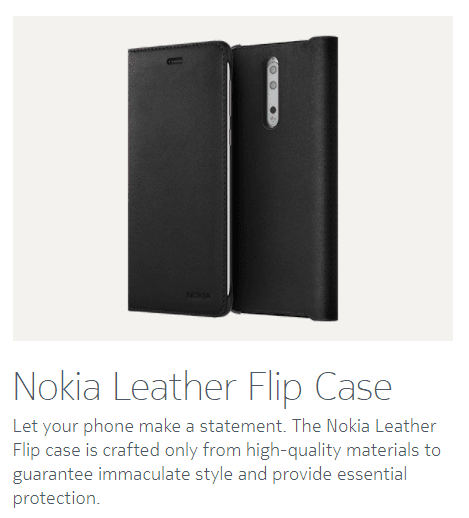 Nokia 8 Official Accessories: Leather Flip Case, Wireless Earphones 28