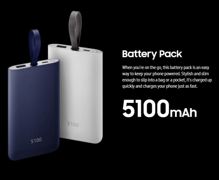 Battery Pack - Galaxy Note 8 Accessories