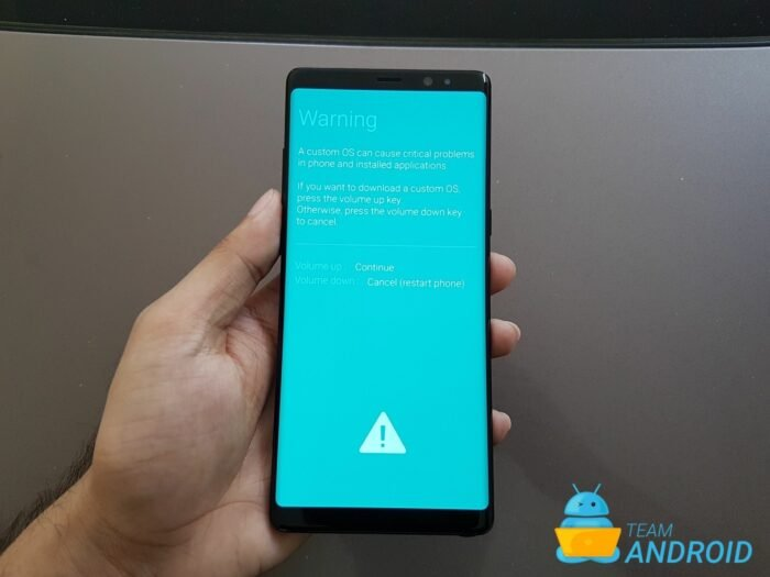 Samsung Galaxy Note 8 Download Mode