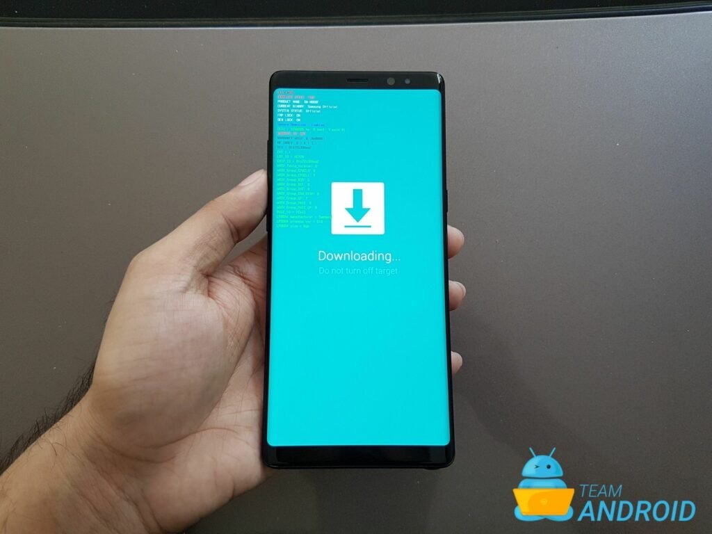 HOW TO: Enter Samsung Galaxy Note 8 Download Mode / Odin Mode