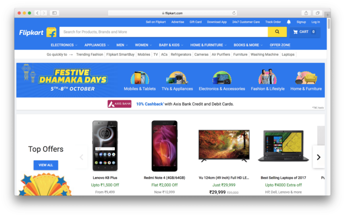 Buy Google Pixel 2 from Flipkart