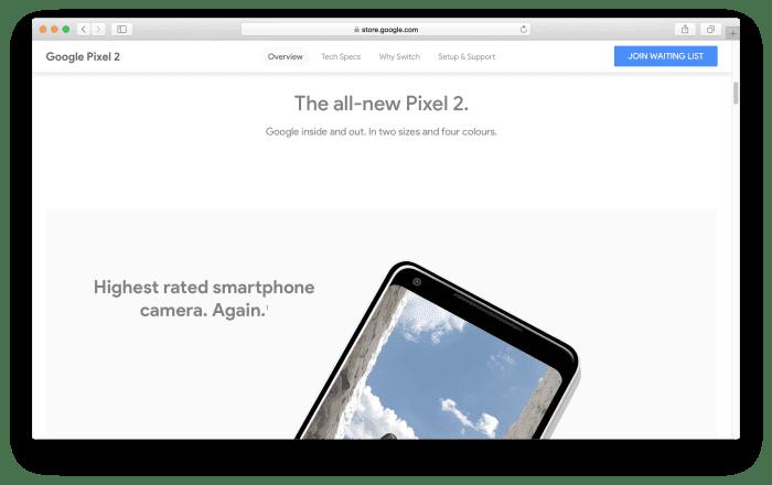 Buy Google Pixel 2 from Google Store