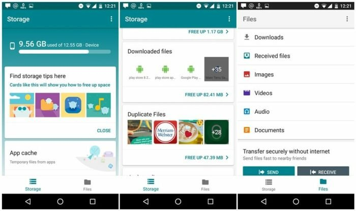 Download Files Go APK, Google's new File Manager for Android 11