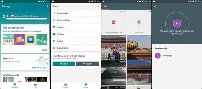 Download Files Go APK, Google's new File Manager for Android 10