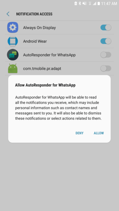 How to Set Up Auto Responses for WhatsApp with AutoResponder App 14
