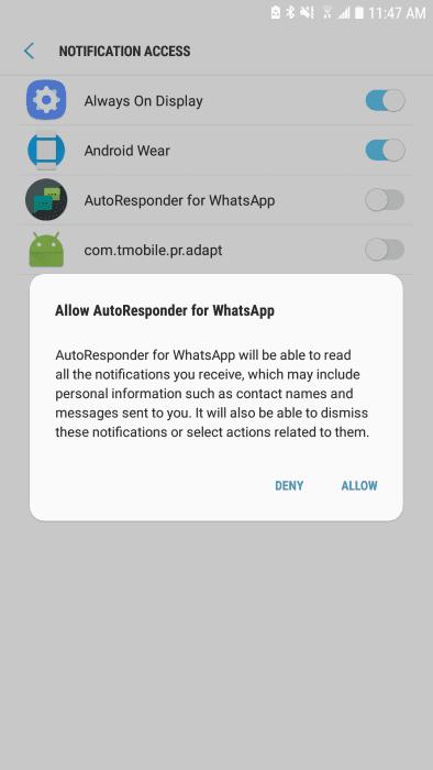 Set up Auto Responses for WhatsApp - AutoResponder App [How to]