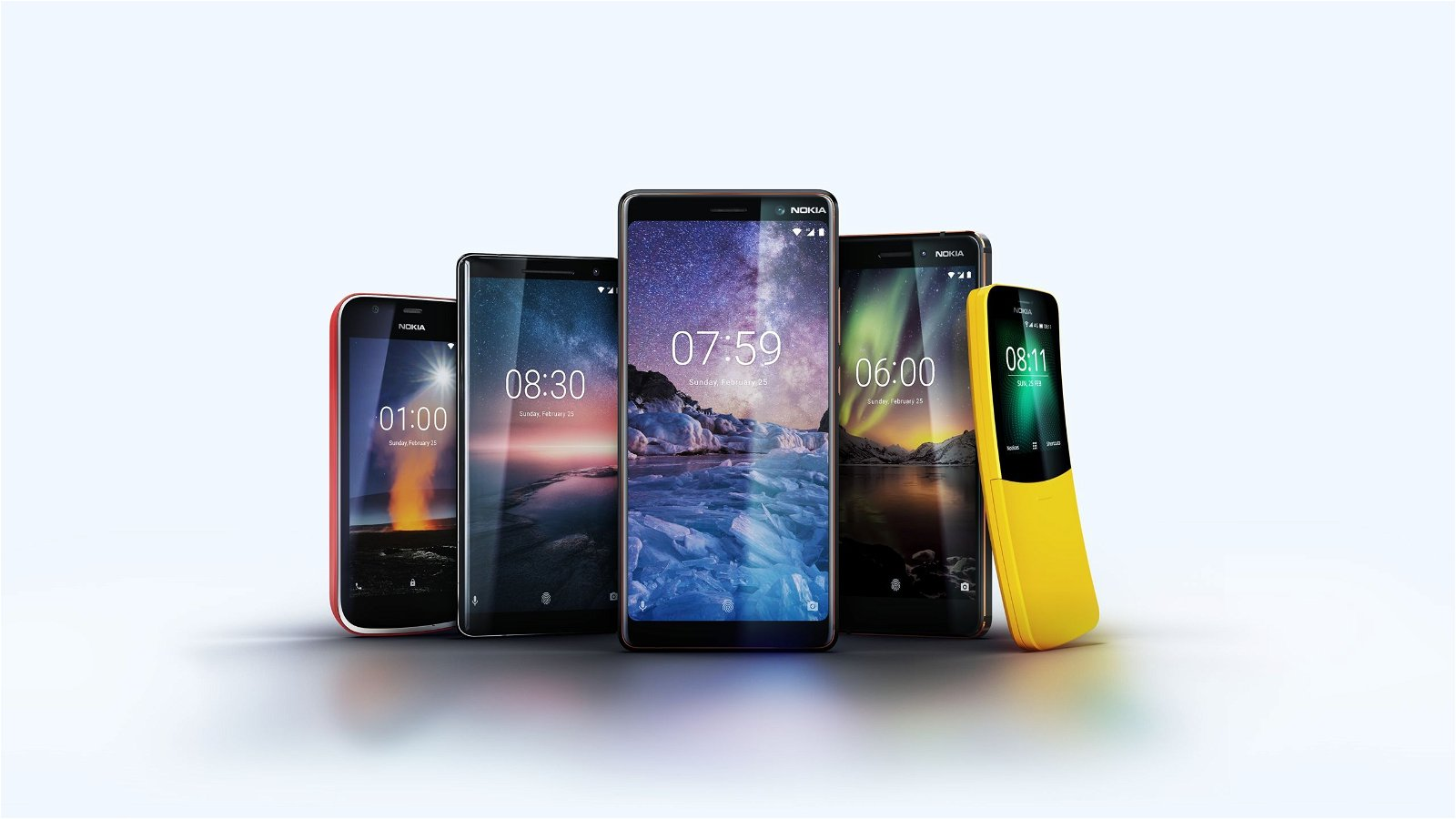 HMD Global Launches 5 New Phones - Nokia MWC 2018 6
