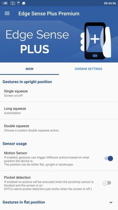 Pixel 2 Edge Squeeze, Edge Sense Plus