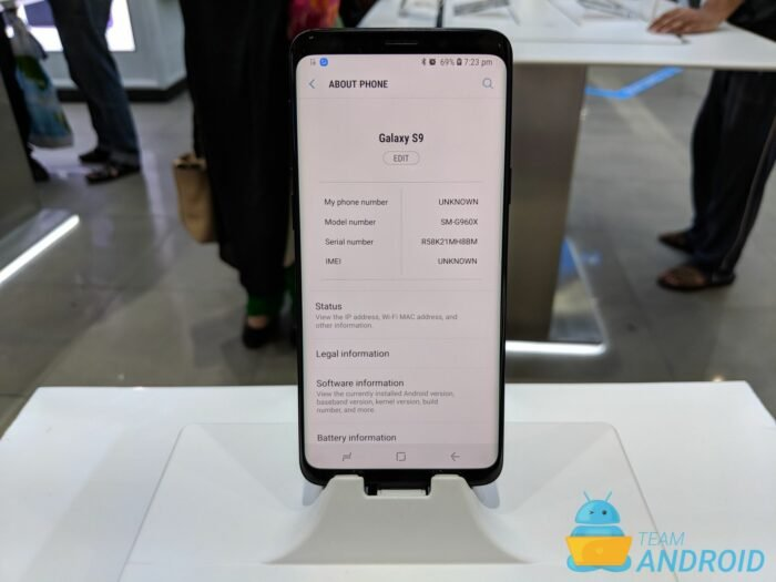 Samsung Galaxy S9 Model Numbers
